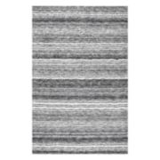 nuLOOM Classic Lines Striped Shag Rug