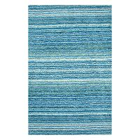 nuLOOM Classic Lines Striped Shag Rug