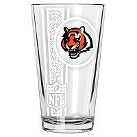 Cincinnati Bengals Etched Pint Glass