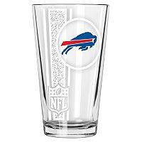 Buffalo Bills Etched Pint Glass