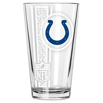 Indianapolis Colts Etched Pint Glass