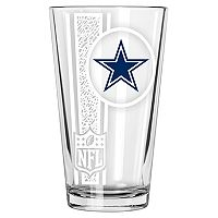 Dallas Cowboys Etched Pint Glass