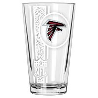 Atlanta Falcons Etched Pint Glass