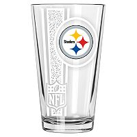 Pittsburgh Steelers Etched Pint Glass