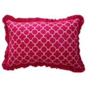 Waverly Kids Reverie Ruffle Oblong Throw Pillow
