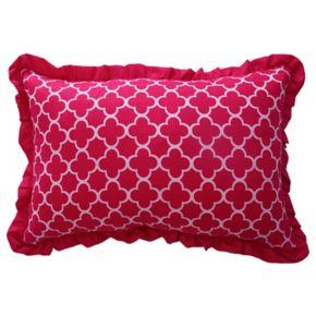 Waverly Kids Reverie Ruffle Oblong Throw Pillow