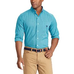 Big & Tall Chaps Classic-Fit Stretch Button-Down Shirt