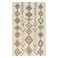 nuLOOM Belini Geometric Wool Blend Rug