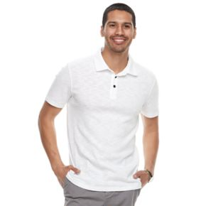 Men's Apt. 9® Slim-Fit Slubbed Polo