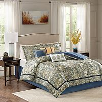 Madison Park Madison Charmeuse 7-piece Comforter Set