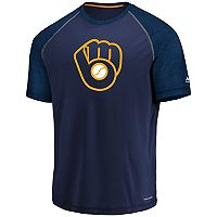 Men's Majestic Milwaukee Brewers Tee