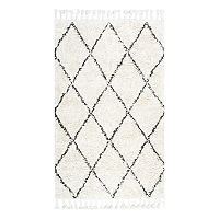 nuLOOM Fez Lattice Shag Wool Rug