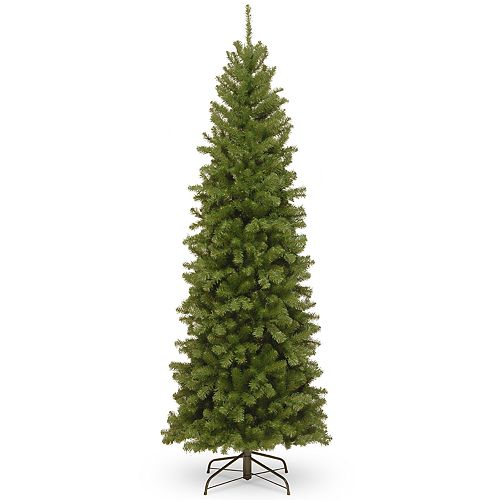 National Tree Company 7-ft. North Valley Spruce Pencil Slim Artificial Christmas Tree