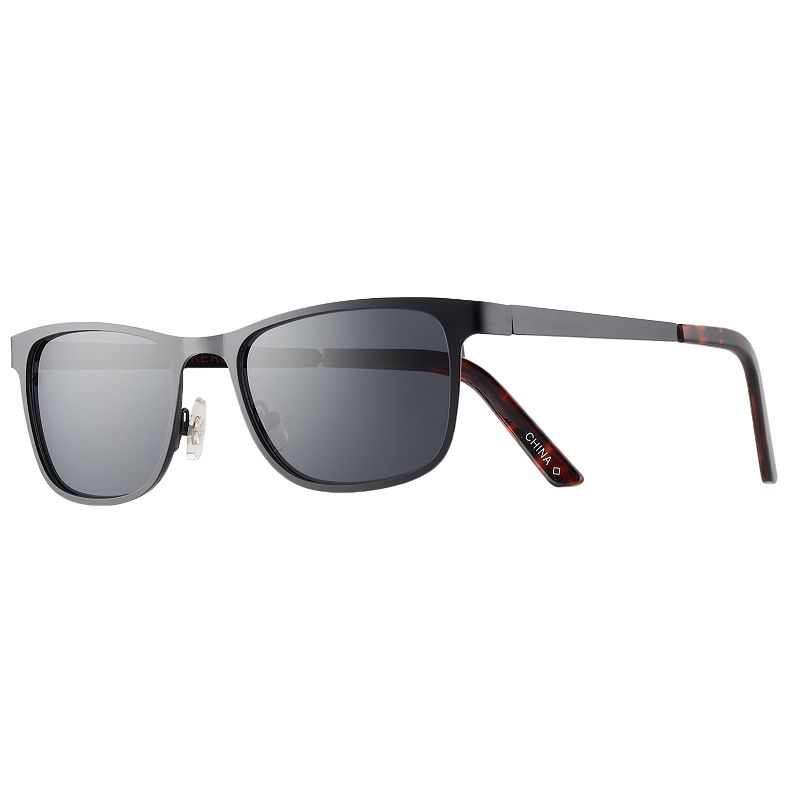 91bf64813b8 Men s Apt. 9® Shiny Black Wrap Sunglasses