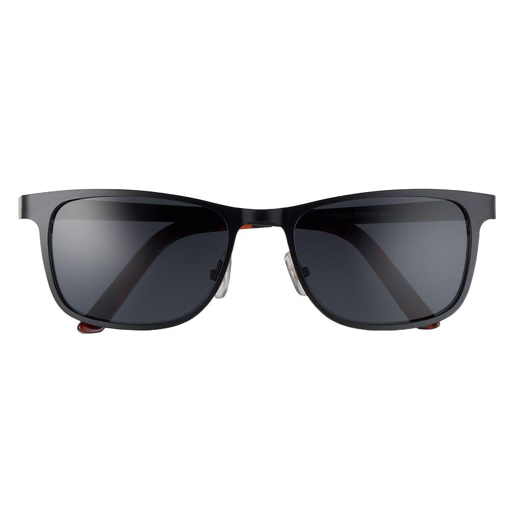 Men's Dockers Flat Metal Polarized Sunglasses