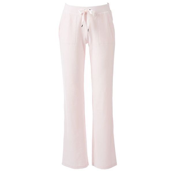 Women S Juicy Couture Midrise Bootcut Velour Pants