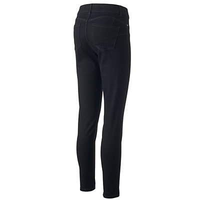 Women's Juicy Couture Flaunt It Midrise Black Jeggings