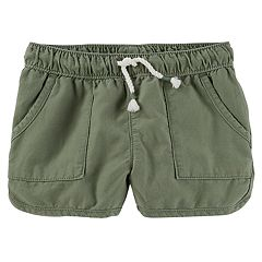 Toddler Girl OshKosh B'gosh® Pull-On Drapey Twill Shorts