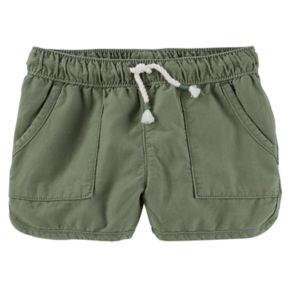 Toddler Girl OshKosh B'gosh® Pull-On Drapey Twill Shorts