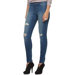 Women's Juicy Couture Flaunt It Ripped Skinny Jeans