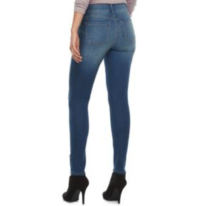 Women's Juicy Couture Flaunt It Ripped Midrise Skinny Jeans