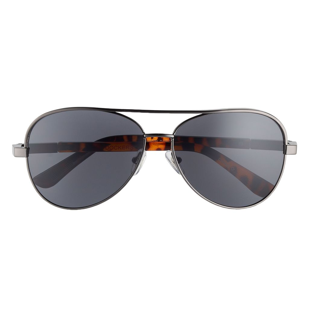 Men's Dockers Spring Hinge Aviator Sunglasses