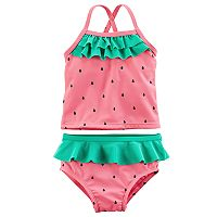 Baby Girl Carter's 2-pc Watermelon Tankini