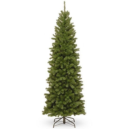 National Tree Company 7.5-ft. North Valley Spruce Pencil Slim Artificial Christmas Tree