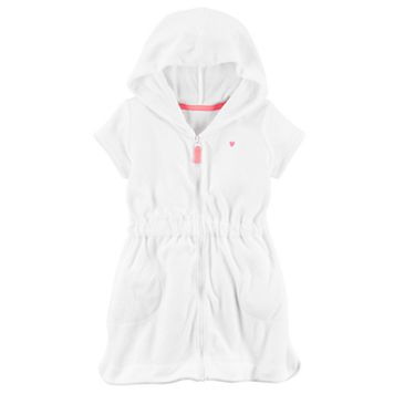Toddler Girl Carter's Hooded Swimsuit Cover-Up
