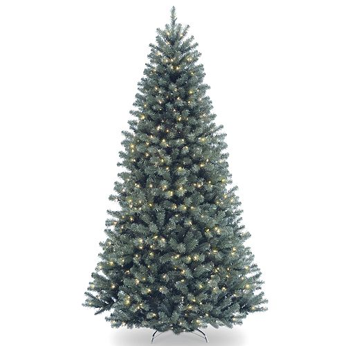 National Tree Company 6.5-ft. Pre-Lit North Valley Blue Spruce Artificial Christmas Tree