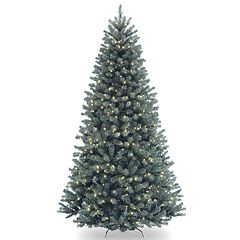 National Tree Company 9-ft. Pre-Lit North Valley Blue Spruce Artificial Christmas Tree