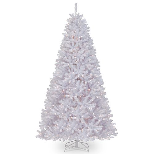 National Tree Company 9-ft. Pre-Lit North Valley White Spruce Artificial Christmas Tree