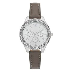Women's Crystal Pave Bezel Watch