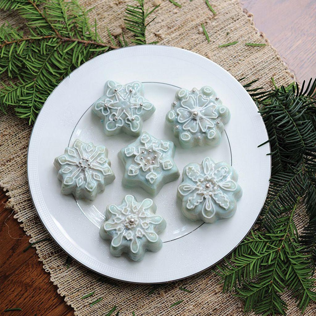 Food Network™ Frozen Snowflake Cakelet Pan
