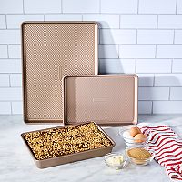 Food Network™ 3 pc Essential Textured Bakeware Set