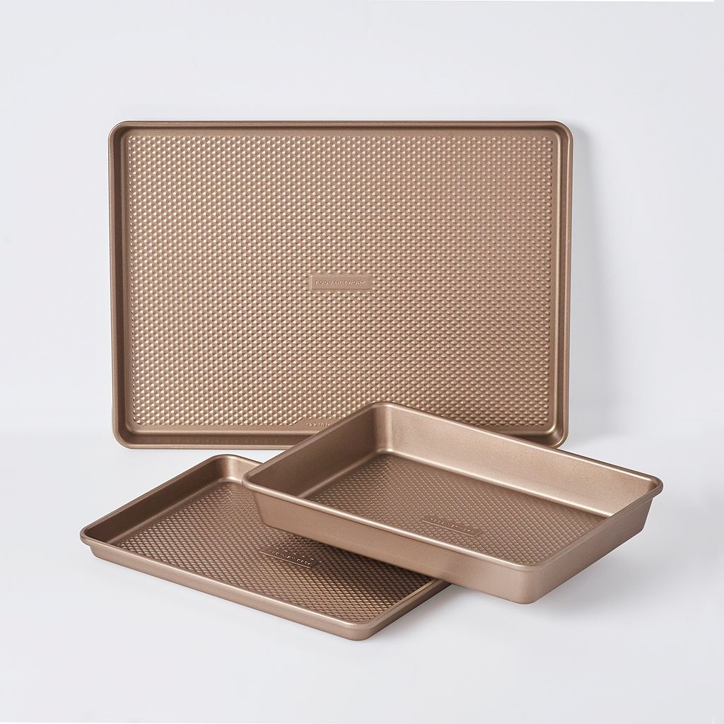 Food Network™ 3-pc. Essential Textured Bakeware Set
