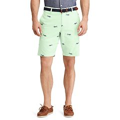 Big & Tall Chaps Classic-Fit Swordfish Chambray Flat-Front Shorts