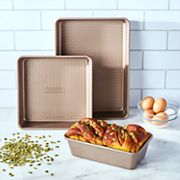Food Network™ 3 pc Bakers Textured Bakeware Set