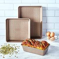 Food Network™ 3-pc. Bakers Textured Bakeware Set