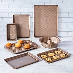 Food Network™ 7-pc. Ultimate Textured Bakeware Set