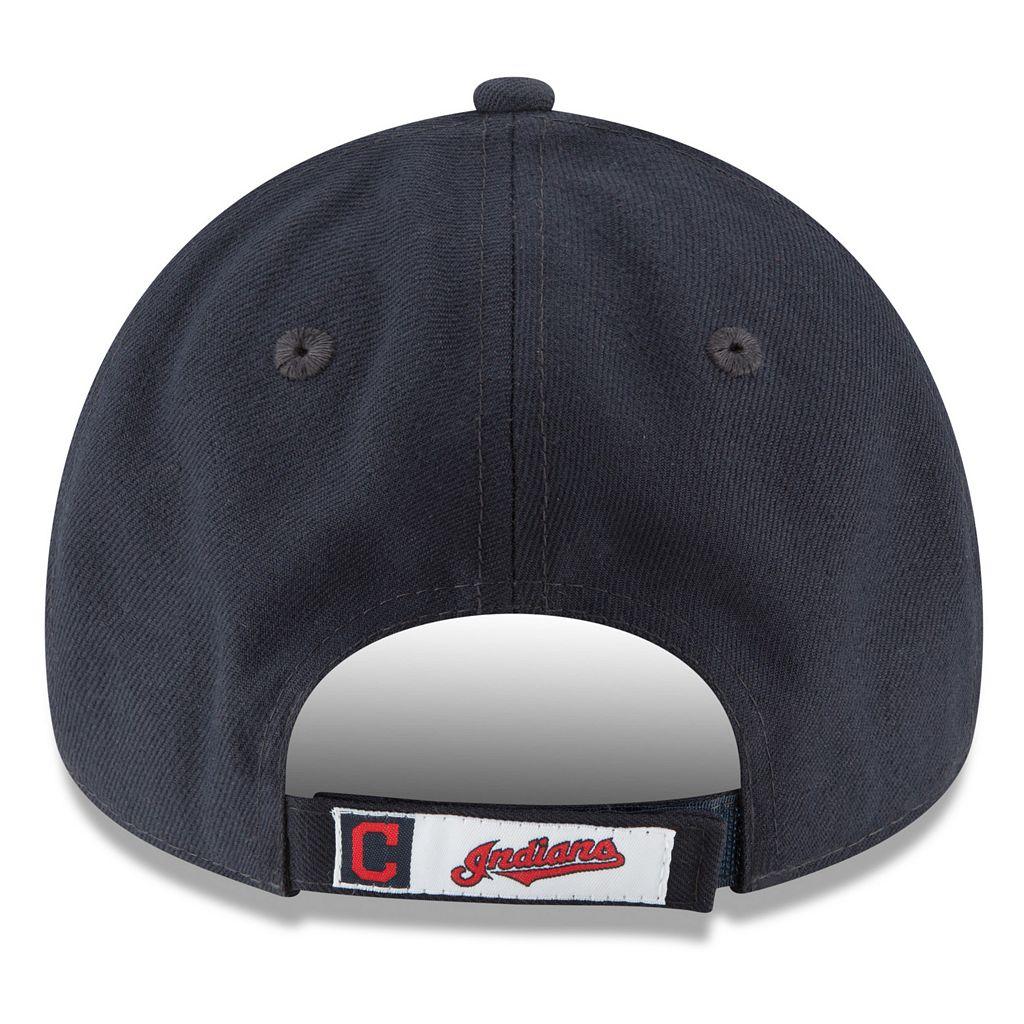Adult New Era Cleveland Indians The League Adjustable Cap