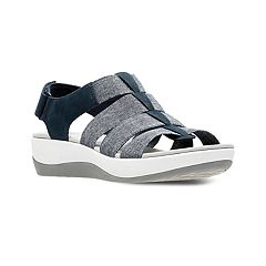 Clarks Cloudsteppers Arla Shaylie Women's Ortholite Fisherman Sandals