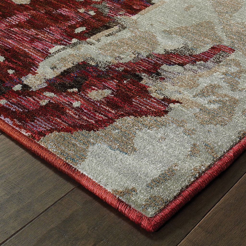 StyleHaven Easton Canvas Abstract Rug