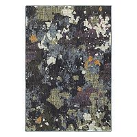 StyleHaven Easton Dappled Night Abstract Rug