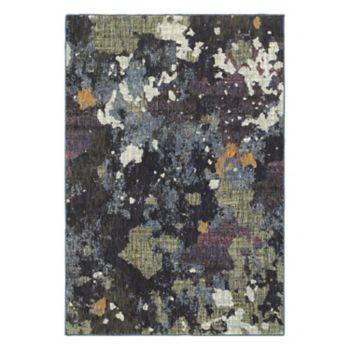 StyleHaven Easton Dappled Night Abstract Rug