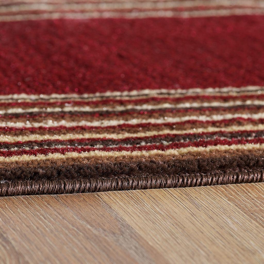 VCNY Stripe Bordered Rug