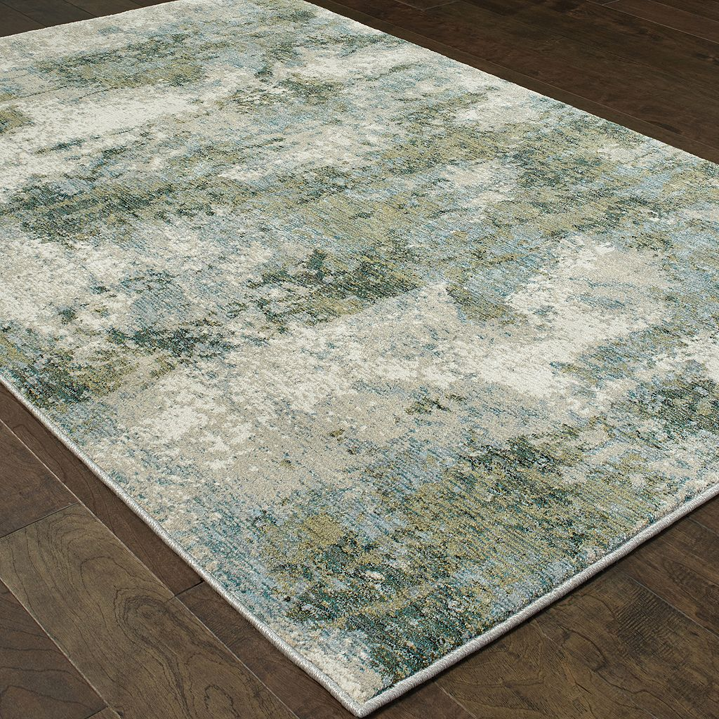 StyleHaven Easton Mist Abstract Rug