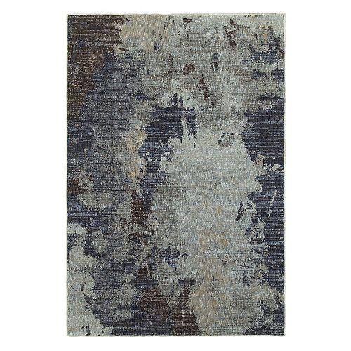 StyleHaven Easton Gray Skies Abstract Rug