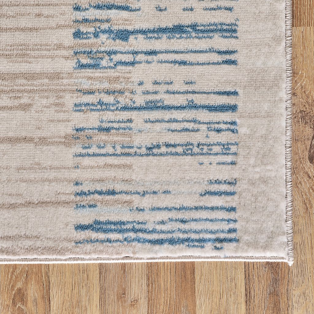 VCNY Watercolor Striped Rug