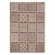VCNY Home Hunter Patchwork Geometric Rug